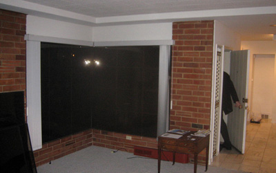 living room existing