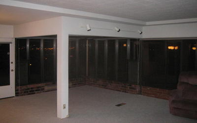 609 living room/sun room existing
