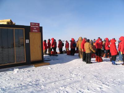 Antarctica International Terminal