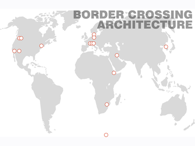 Border Crossing Architecture Map