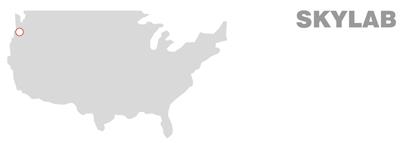 Skylab map