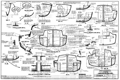 Boat construction drawings definition