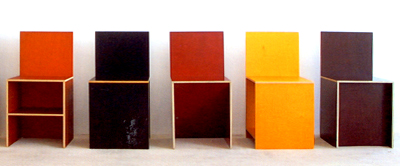 Donald Judd, Chairs #84/85