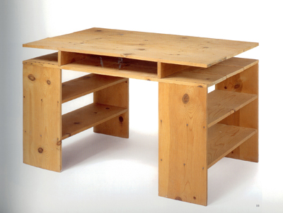 Donald Judd, Prototype for child's desk