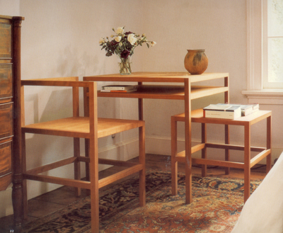 Donald Judd, Frame table and chairs