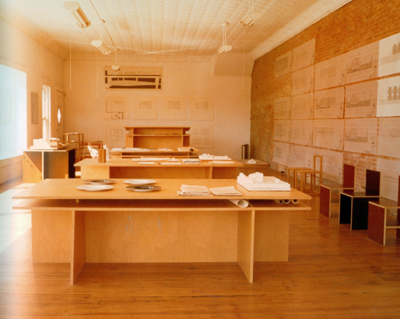 Donald Judd, Office desk