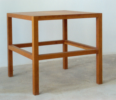Donald Judd, Stool #68