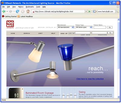 100 Watt Website