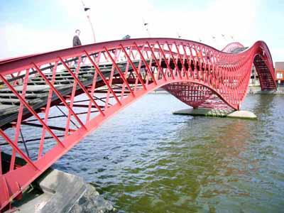 Borneo Sporenburg Bridge, Amsterdam