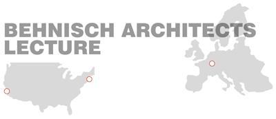 Map Behnisch Architects Lecture