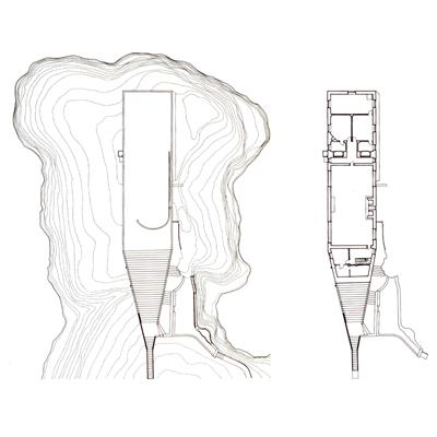 Casa Malaparte plan
