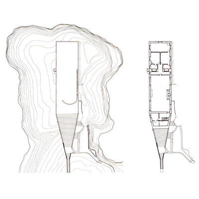 Casa Malaparte plan