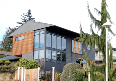 Sand Point, Seattle houses, photo by BUILD llc