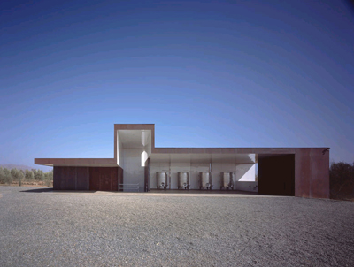 Tercio Winery by Sebastian Mariscal, photo by Hisao Suzuki