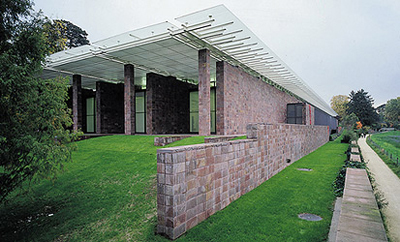 Beyeler Foundation Museum in Basel Switzerland