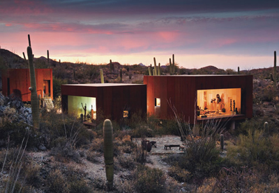Desert Nomad House in Tuscon Arizona by Rick Joy