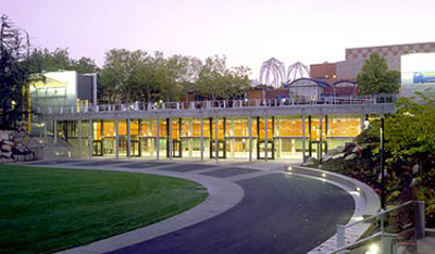 Fisher Pavilion by Miller Hull