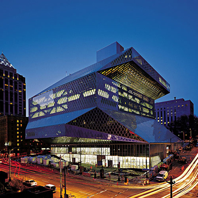 Seattle Public Library by OMA