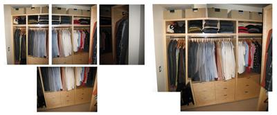 Park Modern closet - Powershot