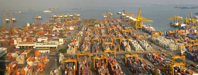 Port Singapore Pictures on Shipping Containers   Build Blog