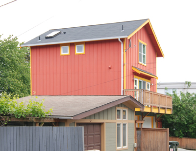 Nickerson House In Seattle, WA Painted Hardi Board And Wood Battens,  Anybody Know The Architect Of This One?