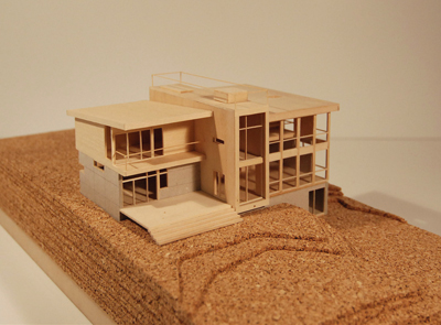 To build a model house
